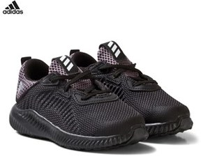 adidas Black Aero Bounce Infants Trainers