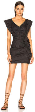 Etoile Isabel Marant Topaz Chic Linen Strapless Dress