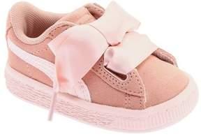 Puma Infant Girls' Suede Heart Sneaker