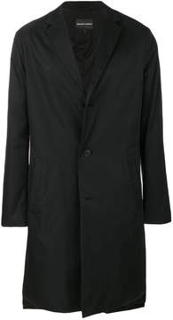Emporio Armani single breasted coat