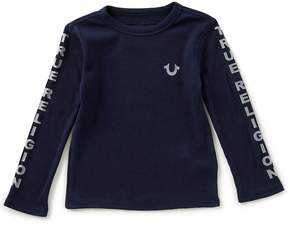 True Religion Little Boys 2T-7 Long-Sleeve Graphic Tee