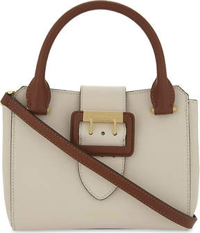 Burberry Buckle leather tote bag - LIMESTONE TAN - STYLE