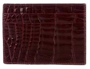 Tiffany & Co. Crocodile Cardholder