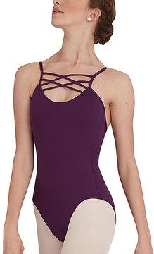 Capezio Purple Crisscross-Accent Camisole Leotard - Women