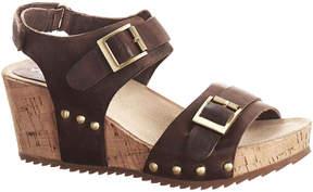 Antelope 580 Leather Wedge Slingback Sandal
