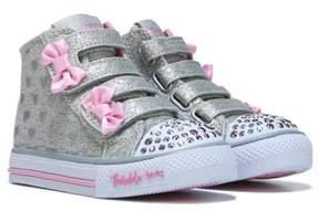 Skechers Kids' Twinkle Toes Doodle Days High Top Sneaker Toddler
