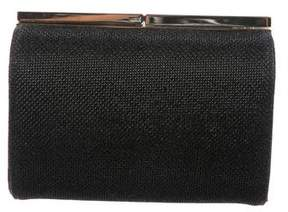 Jimmy Choo Metallic Glitter Clutch