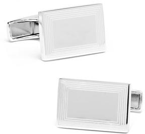Ravi Ratan Etched Rectangular Cufflinks