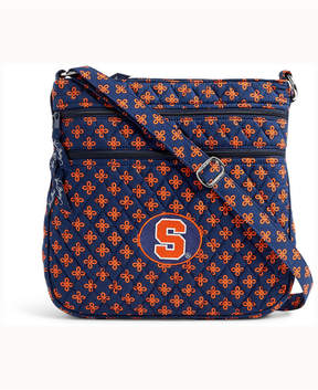 Vera Bradley Syracuse Orange Triple Zip Hipster - BLUE - STYLE