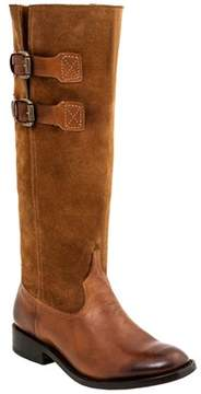 Lucchese Women's Riding Leather Western Boot.