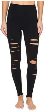 Alo Ripped Warrior Leggings Women's Casual Pants