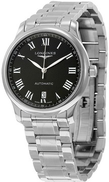 Longines Master Collection Automatic Black Dial Stainless Steel Men's Watch