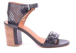 Marc by Marc Jacobs Women's Black Leather Sandals.