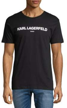 Karl Lagerfeld Graphic Cotton Tee