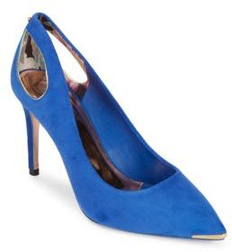 Ted Baker Jesamin Suede Point Toe Pumps