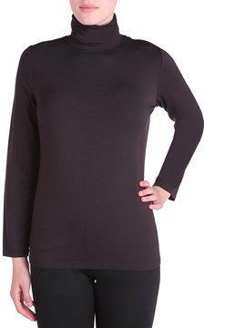 Allison Daley Long Sleeve Turtle Neck Luxe Jersey Top