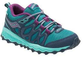 Saucony Girls' Peregrine Shield Sneaker.