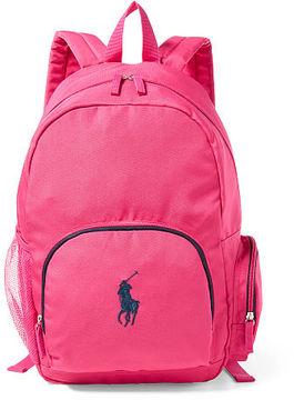 Ralph Lauren Girls Large Campus Backpack