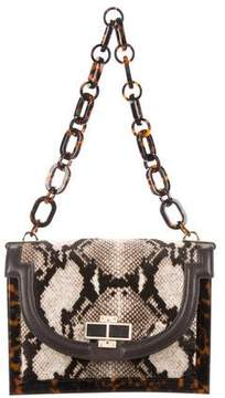 Tory Burch Tortoiseshell-Accented Ponyhair Bag - ANIMAL PRINT - STYLE