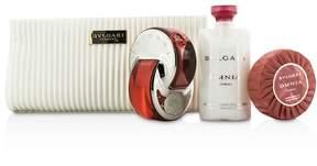 Bvlgari Omnia Coral Coffret: Eau De Toilette Spray 65ml/2.2oz + Soap 75g/2.6oz + Body Lotion 75ml/2.5oz + Pouch