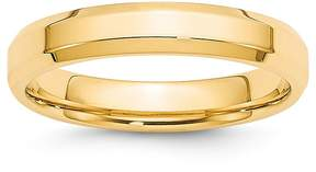 Bloomingdale's Men's 4mm Bevel Edge Comfort Fit Band in 14K Yellow Gold - 100% Exclusive