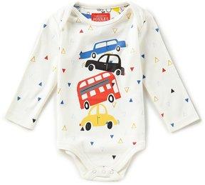 Joules Baby Boys Newborn-12 Months Car/Triangle Print Bodysuit