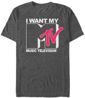 Fifth Sun Charcoal Heather 'I Want My Music Television' Tee - Men