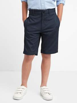 Gap Uniform action stretch flat front shorts