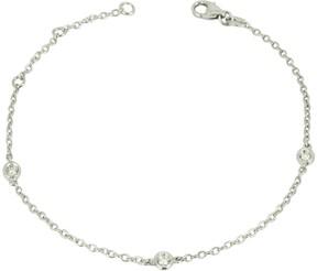 Forzieri 0.09 ct DiamondS 18K Gold Bracelet