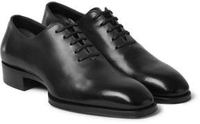 Tom Ford Whole-Cut Leather Oxford Shoes