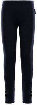 Moncler Pantalone Stretch Leggings, Size 4-6