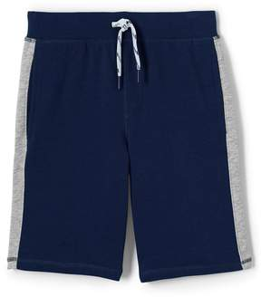 Lands' End Lands'end Toddler Boys Side Stripe Sweat Shorts