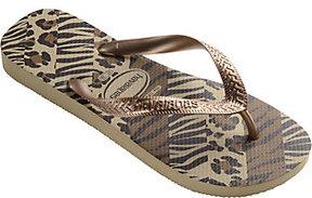 Havaianas Flip Flop Sandals - Top Animal