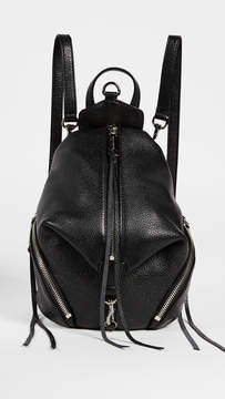 Rebecca Minkoff Convertible Mini Julian Backpack - BLACK - STYLE