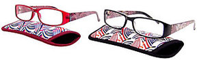 Foster Grant Set of 2 Sami Pearlized Readers with Cases
