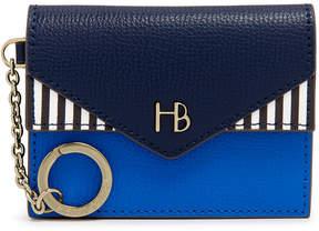 Henri Bendel Miss Bendel Blocked Envelope Coin Purse