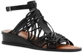 1 STATE 1.STATE Maliyah Leather Wedge Sandals