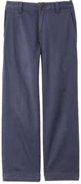 Brooks Brothers Boys' Dark Blue Washed Chino Pant