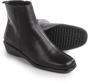 Italian Shoemakers talian Shoemakers Wedge Ankle Boots - Leather (For Women)
