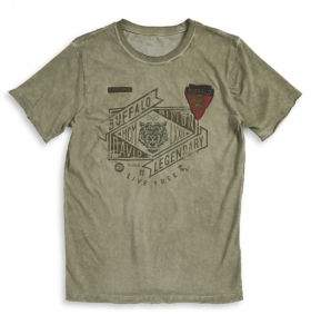 Buffalo David Bitton Boy's Logo Patch Tee