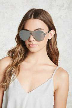 Forever 21 Mirrored Cutout Sunglasses