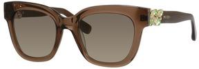 Safilo USA Jimmy Choo Maggie Rectangle Sunglasses