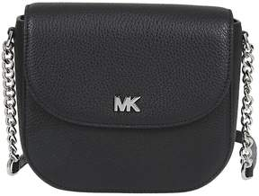 Michael Kors Dome Shoulder Bag - NERO/ARGENTO - STYLE