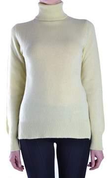BP Studio Women's Yellow Cashmere Sweater.