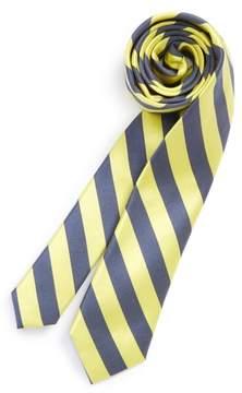 Nordstrom Boy's Stripe Silk & Cotton Tie