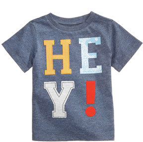 First Impressions Hey-Print T-Shirt, Baby Boys (0-24 months), Created for Macy's