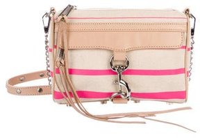 Rebecca Minkoff Striped M.A.C. Crossbody Bag - NEUTRALS - STYLE