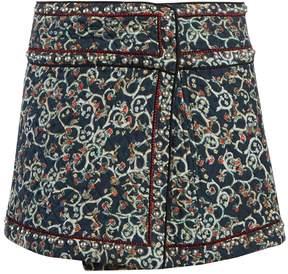 Etoile Isabel Marant Hanon quilted cotton-blend mini skirt