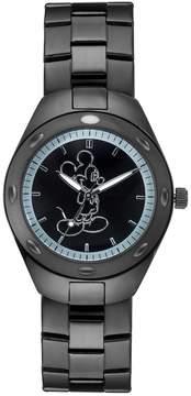 Disney Disney's Mickey Mouse Silhouette Men's Stainless Steel Watch