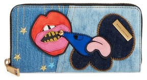 Marc Jacobs Women's Denim Wallet - Blue